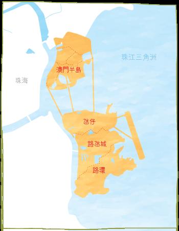 澳門-地圖