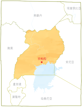 烏干達地圖-01