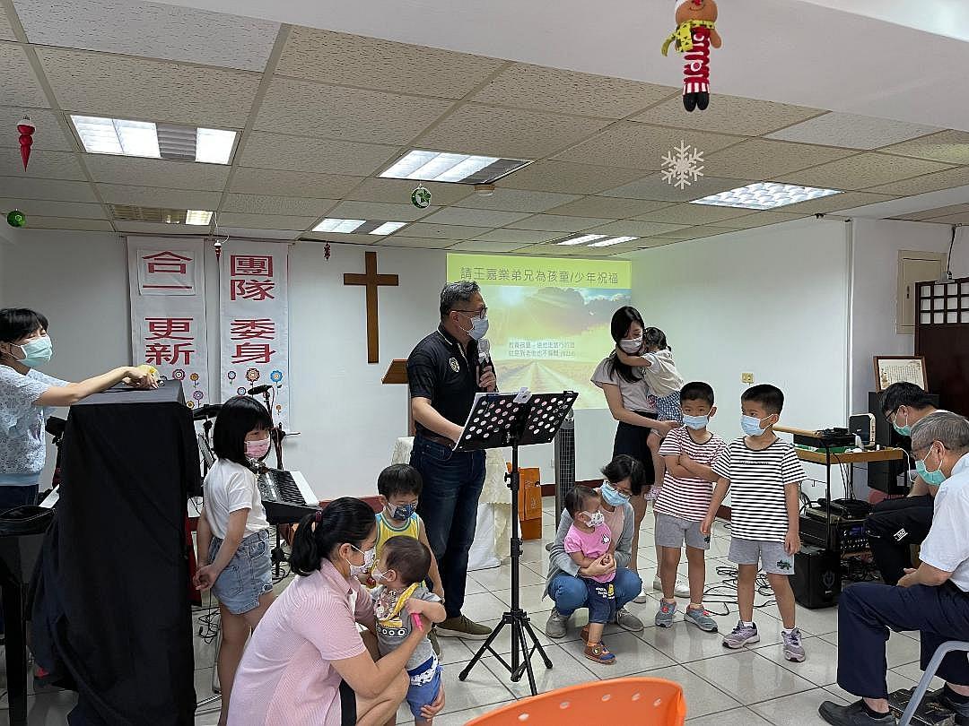 為孩童祝禱