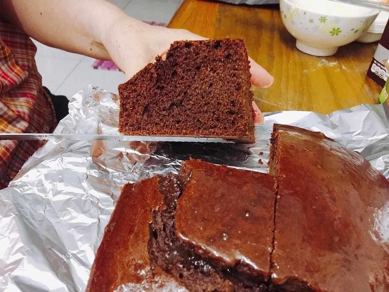 人生中第一個巧克力蛋糕