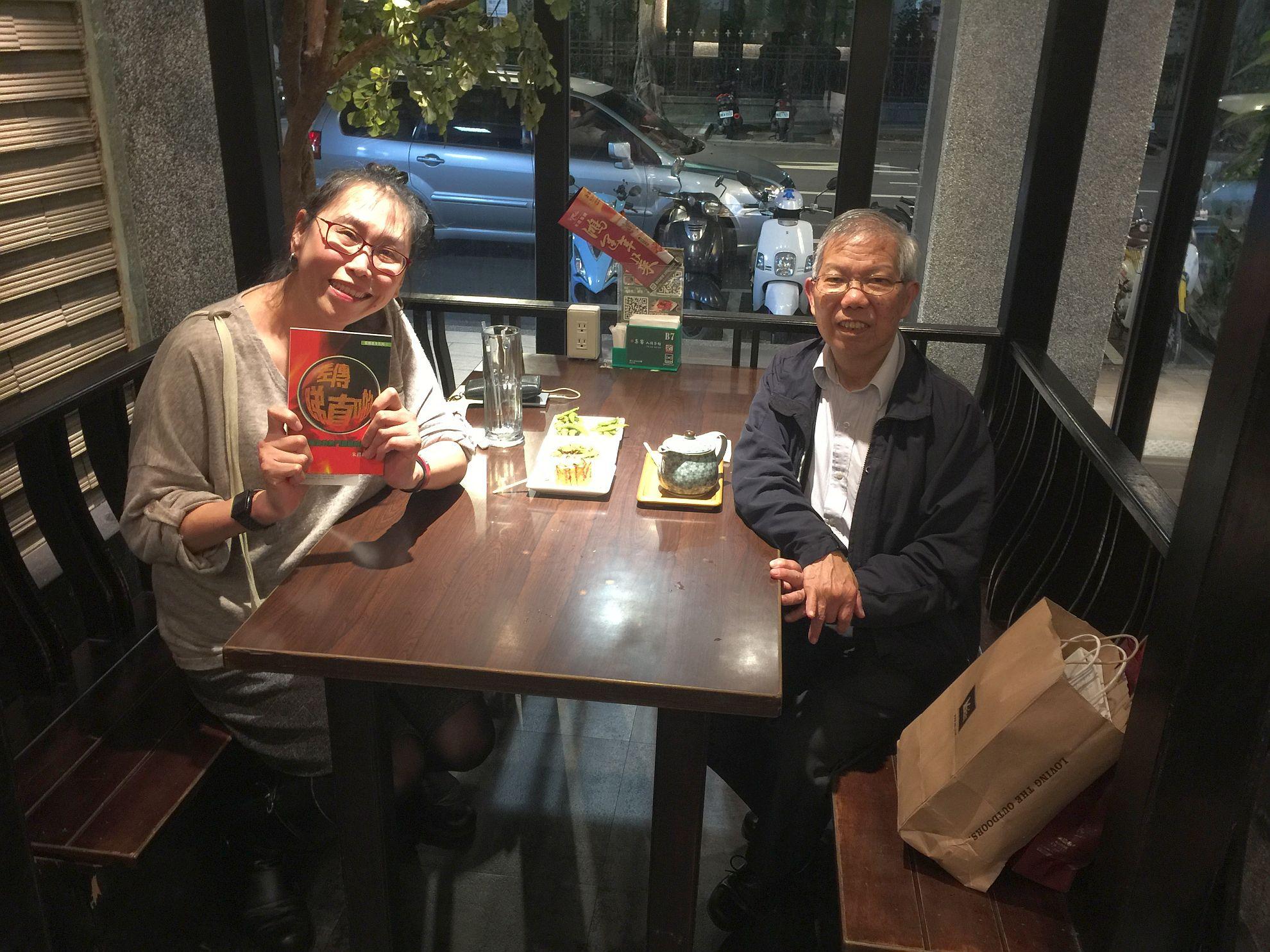 中福團國際總幹事朱牧師來台探訪我和拜訪教會