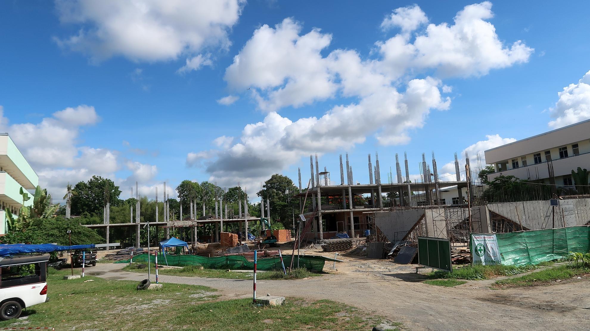 第二期建校工程全貌