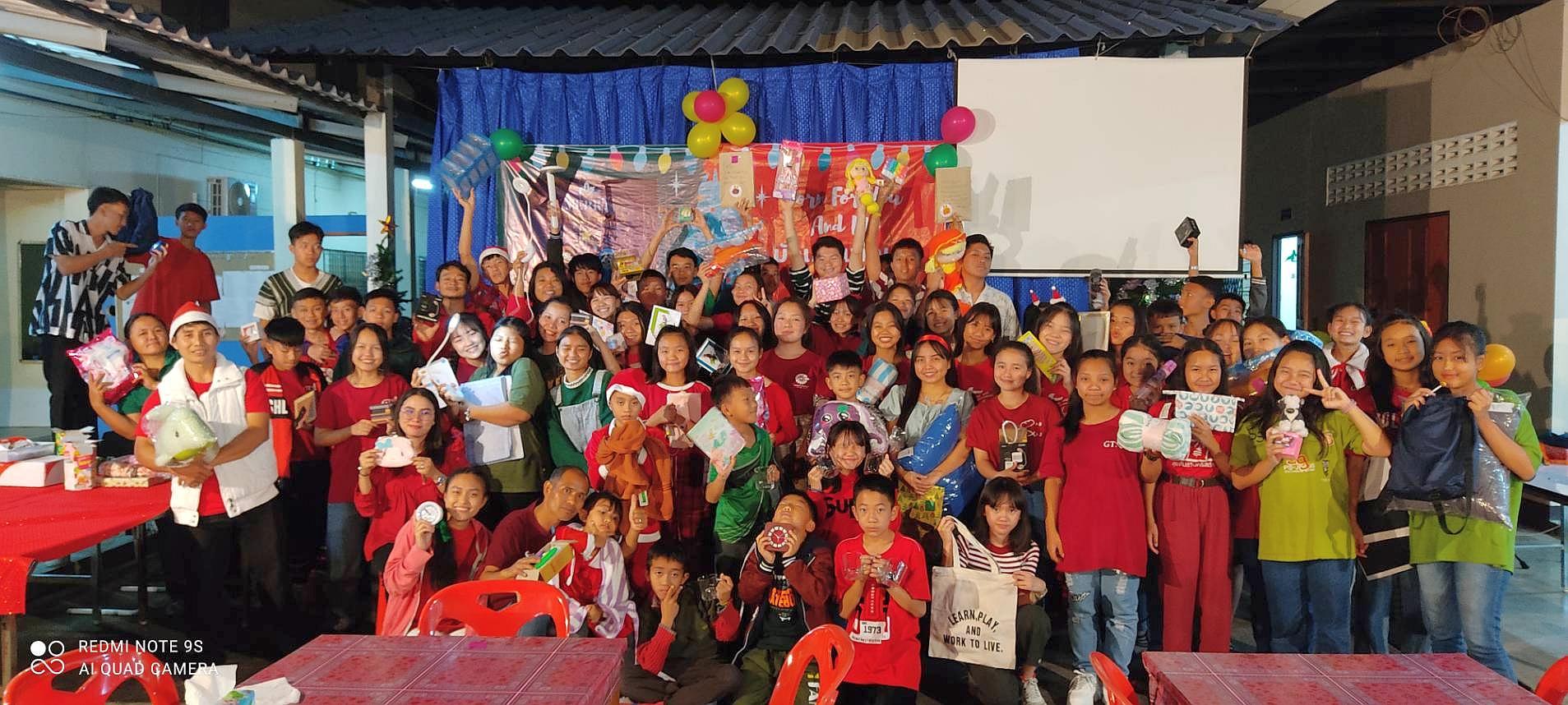 12月20日舉行聖誕慶祝會