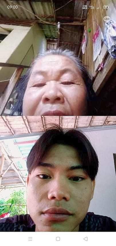 與外婆視像