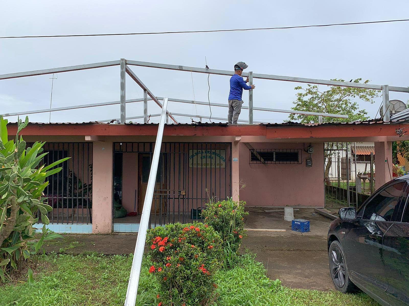牛口省教會七月廿六日開始裝修