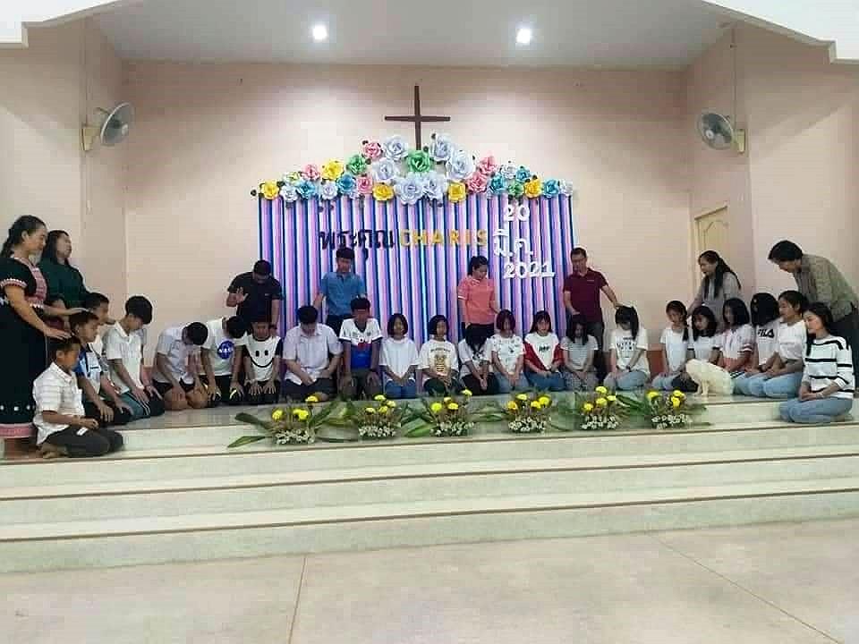 為畢業學生祈禱祝福
