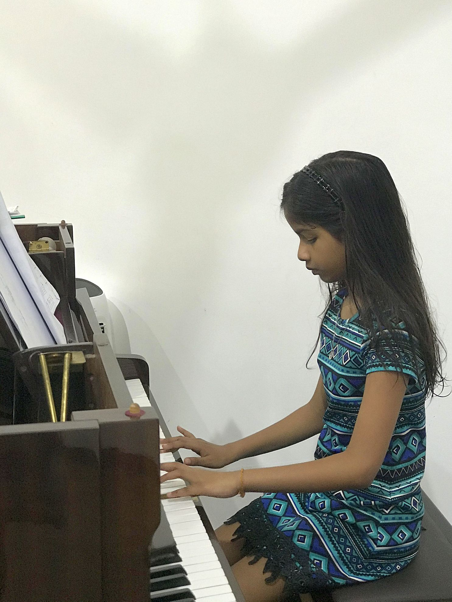 鋼琴學生Dinithi