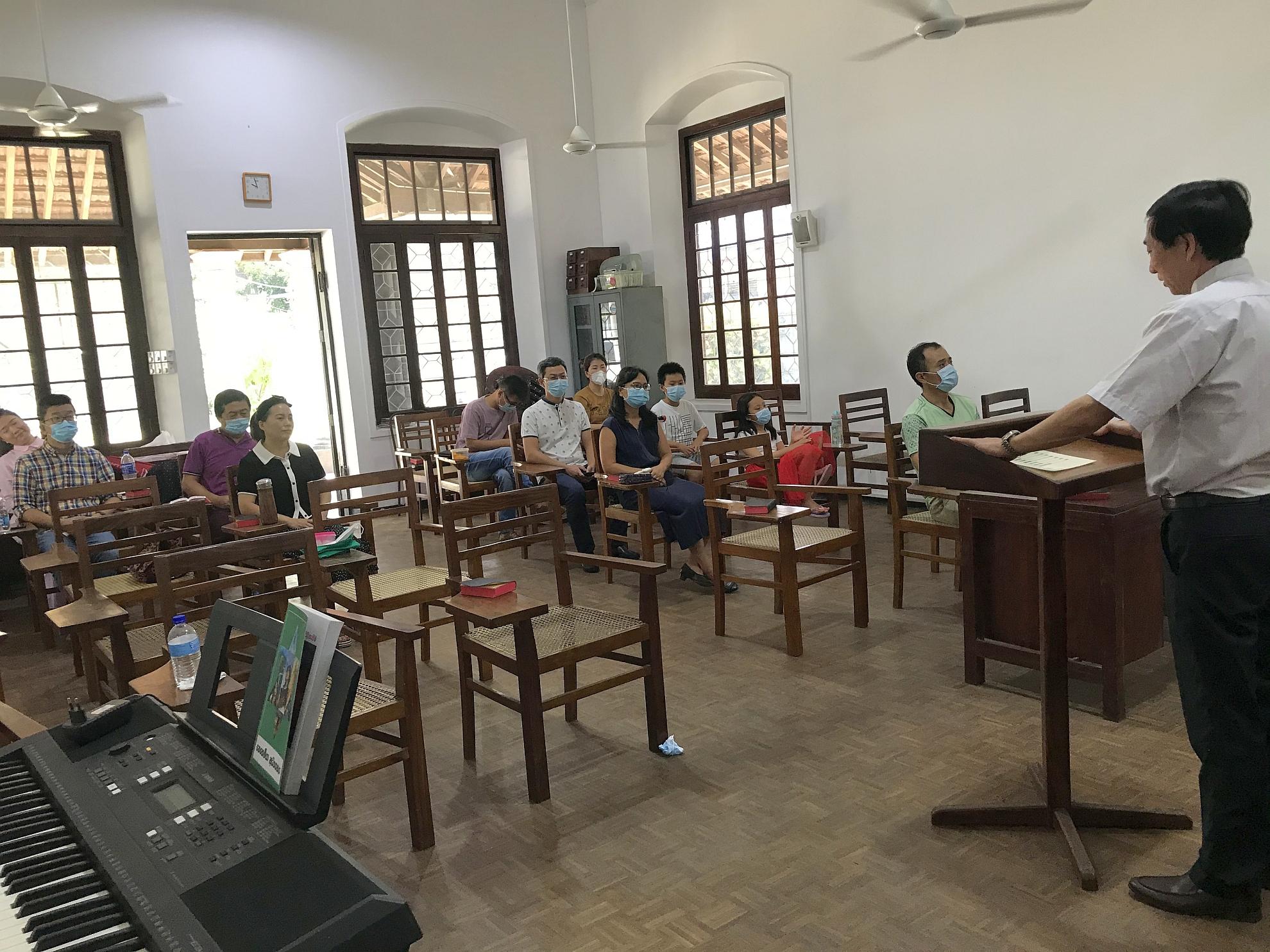 華人教會復活節崇拜2021