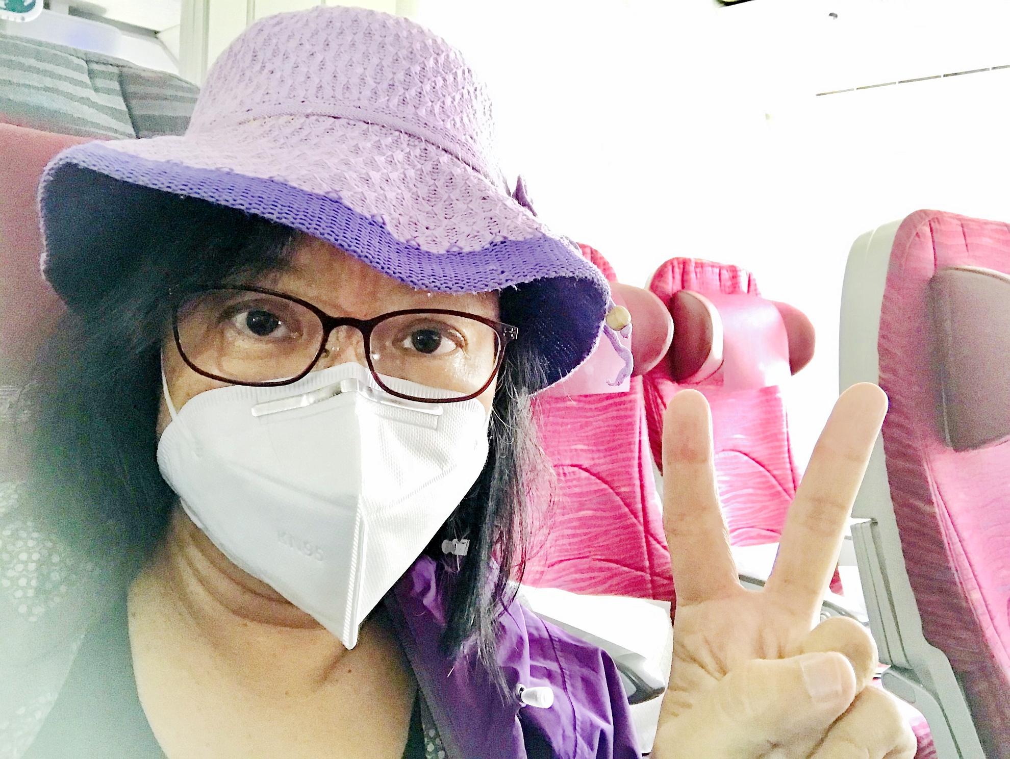 五月七日早上從科倫坡登機